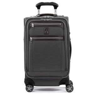 "Travelpro Luggage Platinum Elite 21"" Carry-on Expandable Spinner w/USB Port, Vintage Grey"