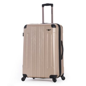 """Rockland Hard, 28"""" Spinner Luggage, Champagne"""