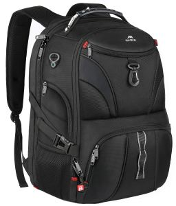 Matein Anti Theft Travel Backpack, Large School Laptop Backpack for Men Women with USB Port, TSA Friendly Water Resistant Big College Bag Business