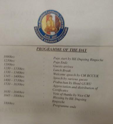 1-Buddha Jayanti 2557 programme
