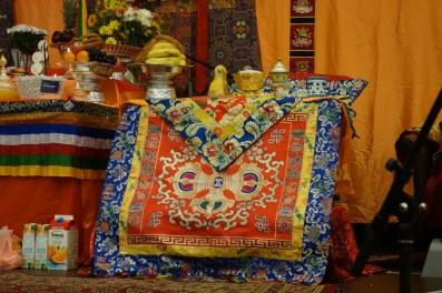 5-The Dupsing Rinpoche sits here