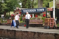 1-Tenterden Station Master with cap