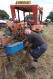 4-Clearing stubble from the plough