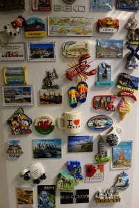 Fridge magnets the modern alternative to holiday post ...