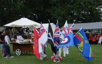 2-A stall of flags and hats