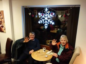 8-Colin & Gill Price consuming Co-op mince pies