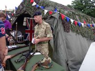 4-The Frimley & Camberley Cadet tent attracts plenty of interest