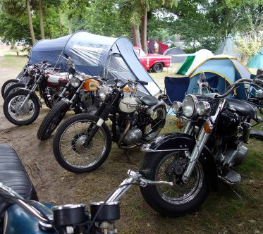 1-Plenty of bikes camping