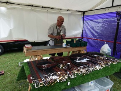 16-Leather belts stall