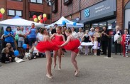 7-Miss Becky's young ballet students performing