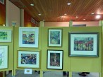 13-A selection of the art works