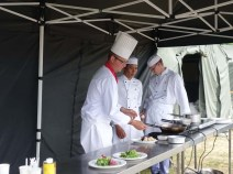 3-Food Service Wing demonstration