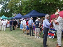 3-Grenadier Guards Association tents