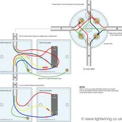 Lighting Spur Wiring Diagram 1999 Ford F250 2 Way Switch 3 Wire System Old Cable Colours Light