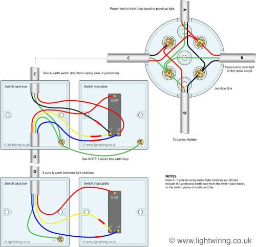 small resolution of 2 gang switch wire diagram