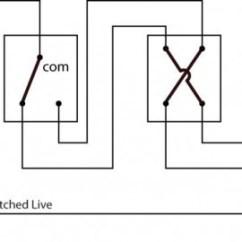One Way Switch Wiring Diagram Uk Brain Anatomy Quiz Intermediate Light 3 Schematic Using A Two Wire Control
