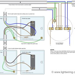 3 Way Switch Wiring Diagram Power To Light 5 Trailer Plug Gmc 2