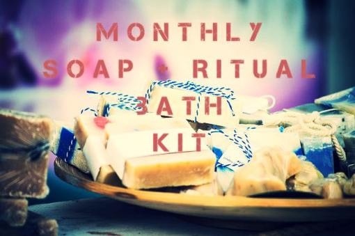monthly soap bath kit