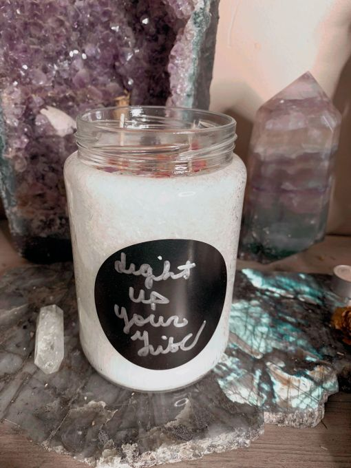 light up your tribe candle