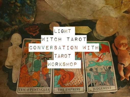 conversation with tarot workshop