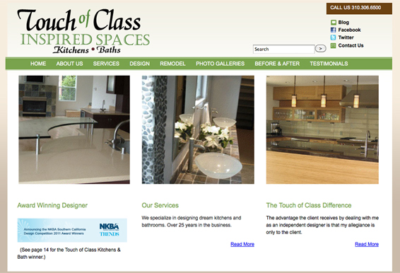 Touch of Class Kitchens
