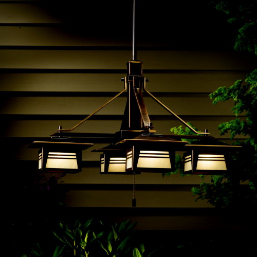Zen Garden Outdoor Chandelier  Landscape Lighting Specialist