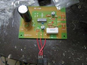 秋月キットの鉛蓄電池充電器の作成 | てすとぺーじ v0.0.8