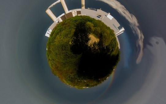 Mini-Planeten - Bilder mit Rundungen