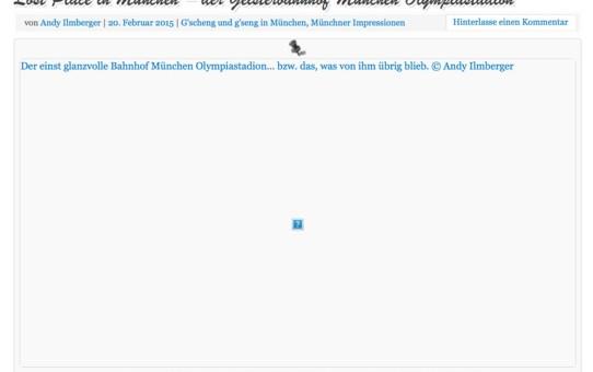 Wie Sie sehen, sehen Sie nichts! Wenn Bilder im Wordpress-Blog unter Safari so angezeigt werden, liegt es am Dateinamen.