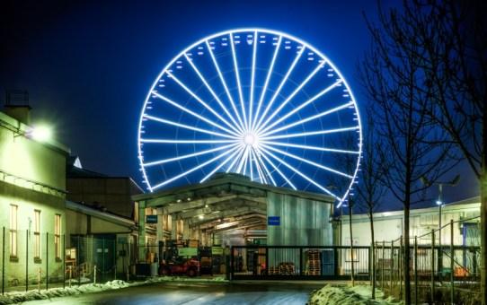 Einst in München – das strahlende Riesenrad von Freimann