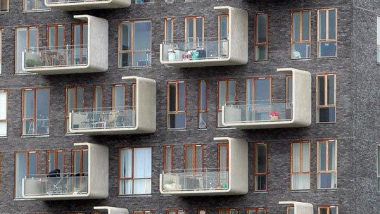 Détails d'Architecture 2 - Ørestad City, Copenhague, Danemark - Photo : Vincent Laganier
