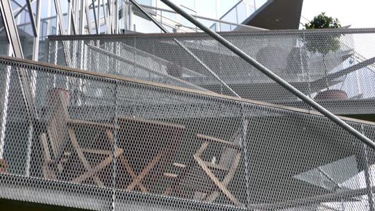 VM Houses, détails des balcons, logements V - Ørestad City, Copenhague, Danemark - Architectes : Bjarke Ingels Group, Julien De Smedt Architects - Photo : Vincent Laganier
