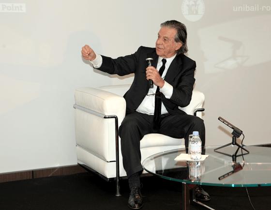 Ricardo Bofill - Les Mardis de l'Architecture, auditorium Unibail-Rodamco - 12 février 2013