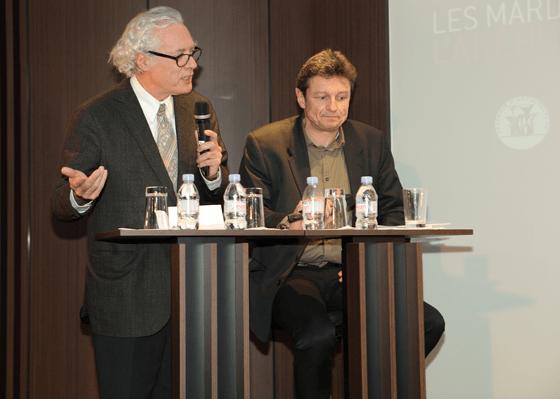 Thierry van de Wyngaert et Gilles Davoine - Les Mardis de l'Architecture, auditorium Unibail-Rodamco - 12 février 2013