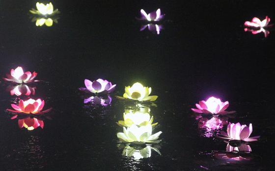 Fête des Lumières 2013 : Chinese Corner, Lyon, France - LI Li et Studio3003 - Photo : Vincent Laganier