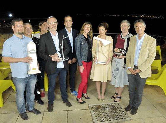 Lauréats et partenaires des prix ACE 2013, 26 septembre à Marseille, France - Photo : Sara Castagné