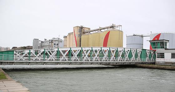 Passerelle - Port de Saint Nazaire, France - Photo Vincent Laganier
