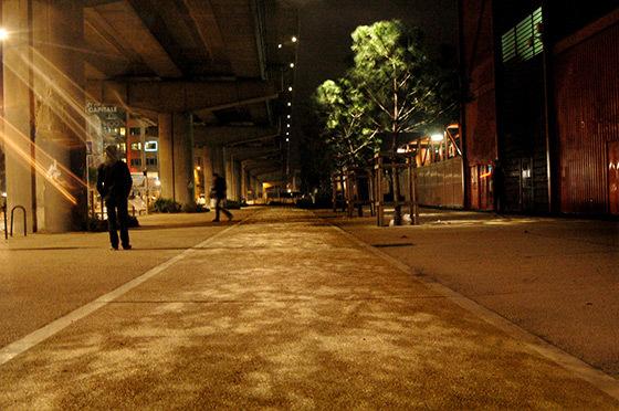 Parvis du Silo, cité de la Méditerranée, Marseille - Ateliers Lion, ILEX concepteur lumière, paysage urbanisme