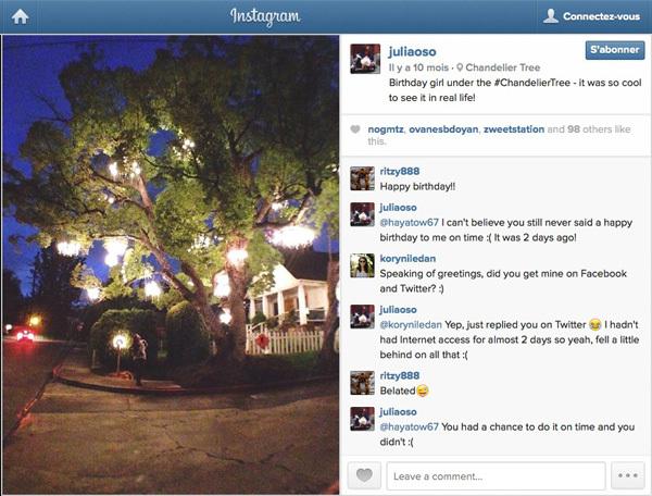 Chandelier Tree - Instagram