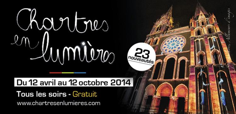 Chartres en lumière 2014