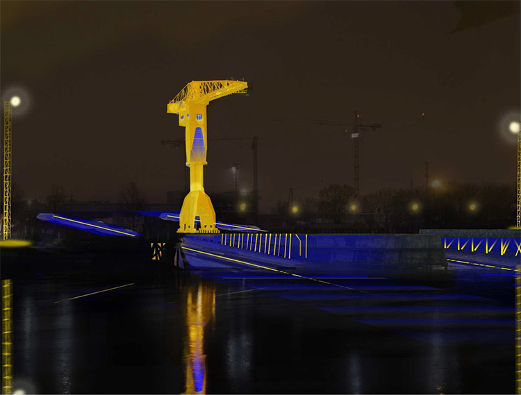 La-grue-Titan-et-son-espace-public---Perspective-lumiere-©-Helene-Charron-et-Omar-Guennoun---Projet-Formation-Conception-Lumiere-Durable-2013---Pole-Atlantique---ENSAN