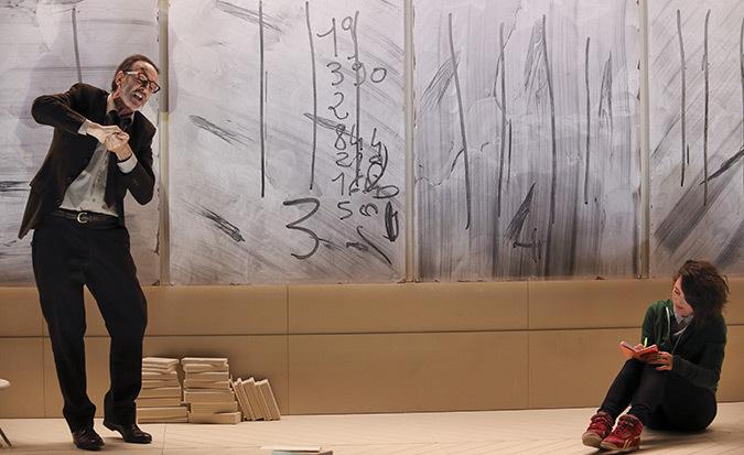 La Leçon de Eugène-Ionesco - Mise en scène : Christian Schiaretti, TNP - Photo : Michel Cavalca
