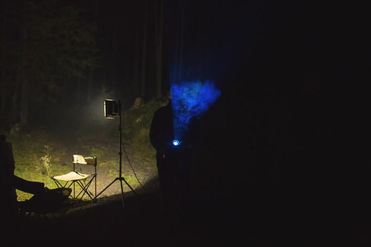 Bio-luminescent Forest