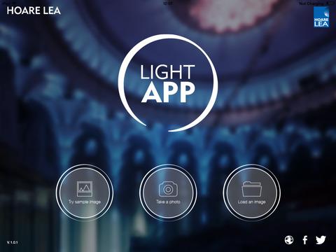 Light App screen1 480x480