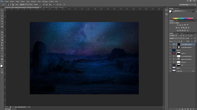 19 - luminosite_contraste - tutoriel Photoshop, maitriser la nuit – Nicolas Houel