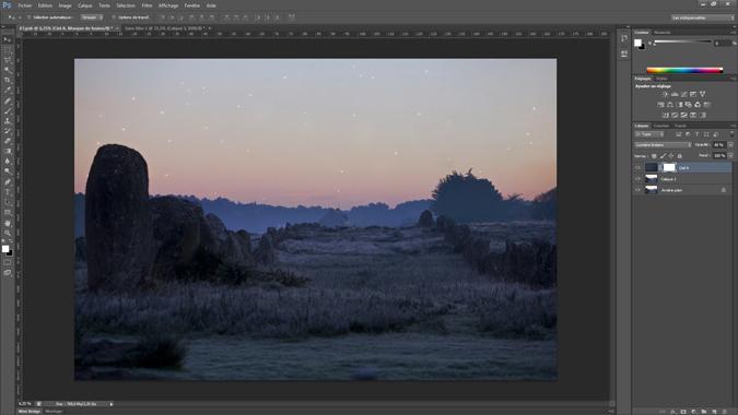 5 - ajouter un masque - tutoriel Photoshop, maitriser la nuit – Nicolas Houel