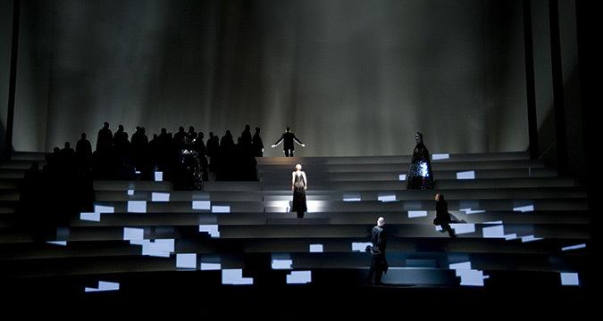 Krol Roger de Karol Szymanowski, Bregenz Festspielhaus - Mise en scène : David Pountney - Créateur lumière et photo : Fabrice Kebour