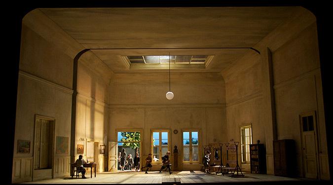 Norma de Bellini, Festival de Salzburg - Mise en scène : Moshe Leiser et Patrice Caurier - Créateur lumière et photo : Christophe Forey