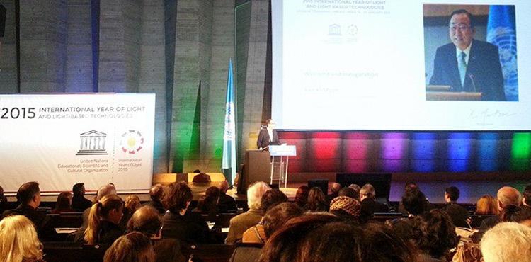 Ban-Ki-moon--Ceremonie-ouverture-IYL2015-UNESCO-Paris-19-janvier-2015-Photo-Chiara-Carucci