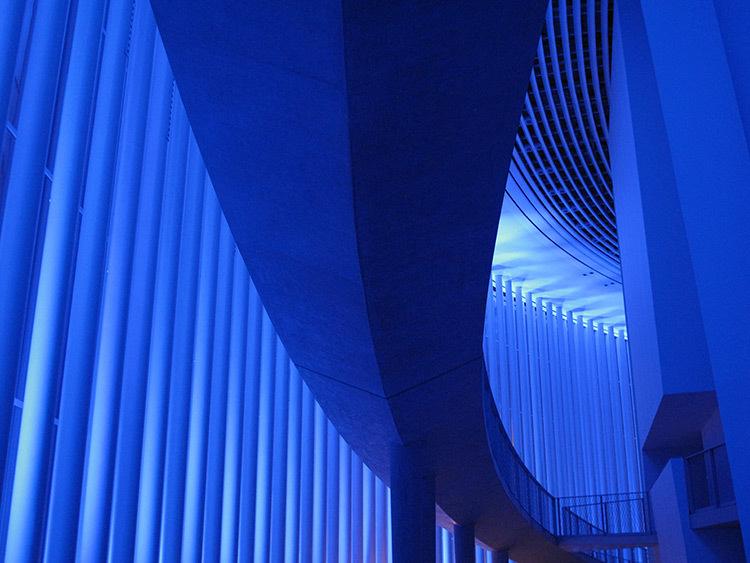 Mono Light, Eric Michel, 2014 - Philharmonie Luxembourg, Rainy days 2014 - Photo : Eric Michel